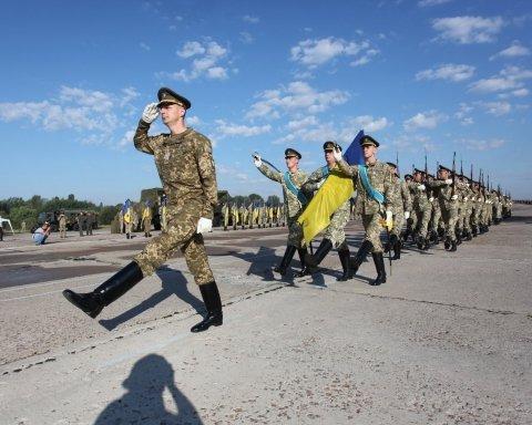 День Независимости: в сети появилось видео репетиции парада с песней «Путин — х#йло»