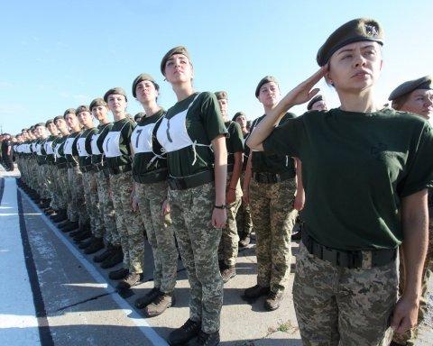 Украинским женщинам разрешили становиться генералами