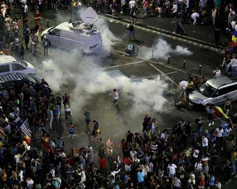 У Румунії спалахнули масові антиурядові протести, на вулиці вийшли десятки тисяч людей