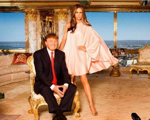 Трамп выбросил из Белого дома вещи жены