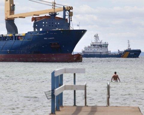 Посадив на мілину величезне судно: шведи затримали п'яного російського капітана