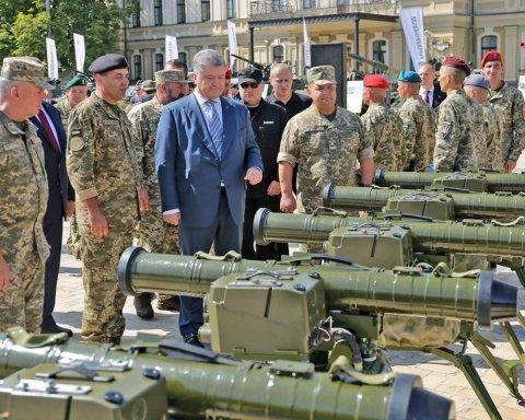 Есть чем похвастаться: в центре Киева проходит выставка военной техники