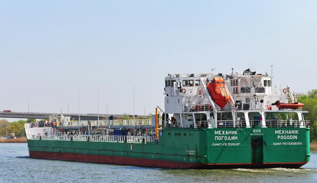 """ОБСЄ відвідала екіпаж російського судна """"Механік Погодін"""" в Херсоні"""