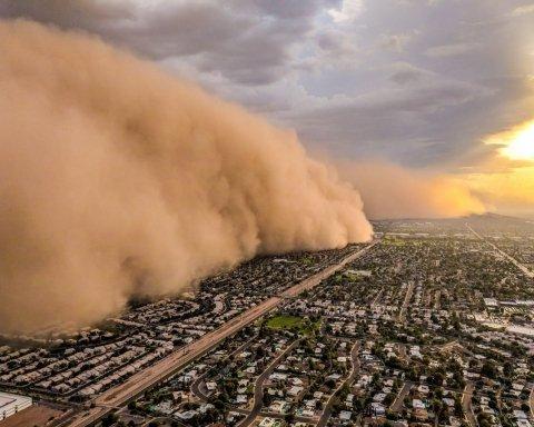 Наче апокаліпсис: американський штат накрила піщана буря