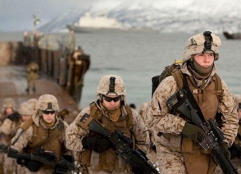 Штати подвоїли контингент своїх військ в Норвегії