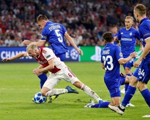 Спробуйте наступного разу: Аякс відправив київське Динамо у Лігу Європи