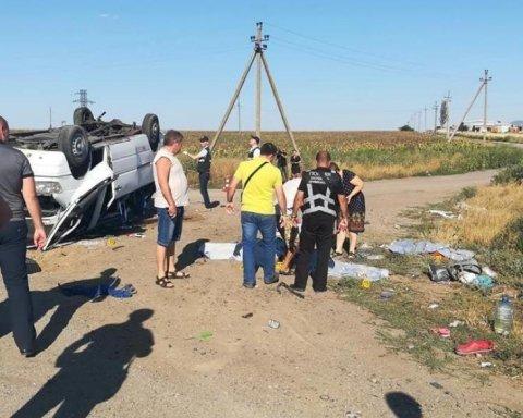Криваве ДТП на Запоріжжі: кількість жертв збільшилася