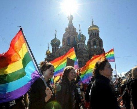 У Санкт-Петербурзі пройшла ЛГБТ-акція: масові затримання
