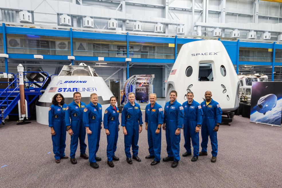 NASA представило команду астронавтів для місій SpaceX та Boeing