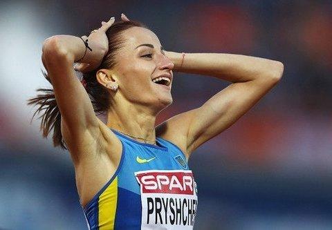 Украинская легкоатлетка Наталья Прищепа стала чемпионкой Европы