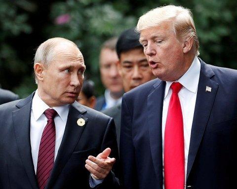 """Путін передав Трампу таємний документ з """"ядерною пропозицією"""""""