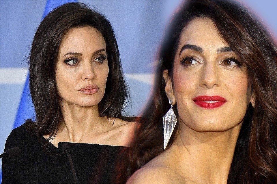 Анджеліна Джолі звинуватила дружину Клуні у крадіжці