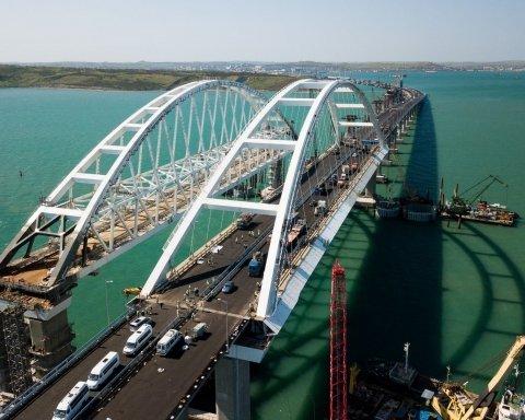 Винен землетрус: в Україні заявили, що Кримський міст почав розвалюватися