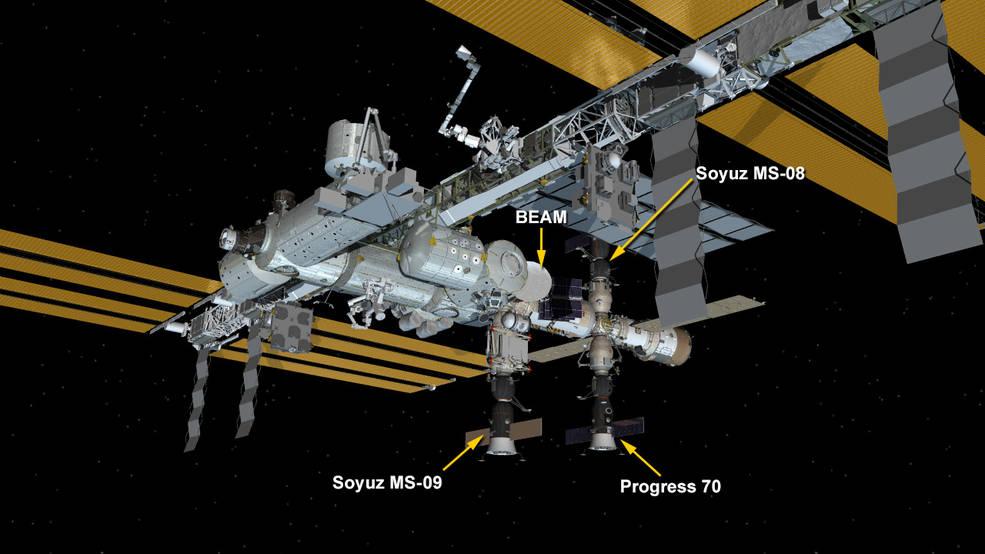 На МКС из-за РФ образовалась трещина, астронавты заткнули ее пальцем