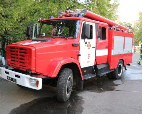 В Киеве горело студенческое общежитие КНЭУ