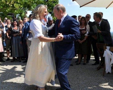 «Любезный человек»: в Австрии возник скандал из-за приезда Путина на свадьбу