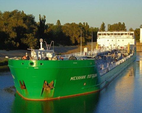 В Херсоне перехватили санкционное судно из России