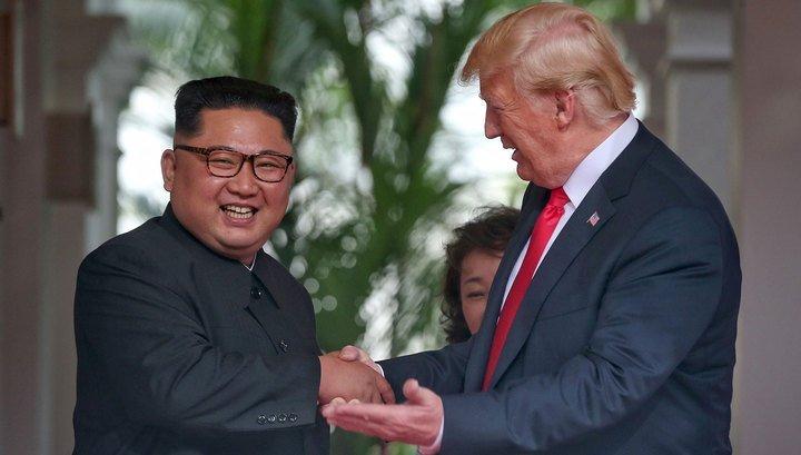Трамп получил отКим Чен Ына очередное письмо