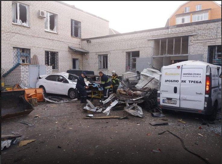 Под Полтавой взорвалась машина, есть погибший