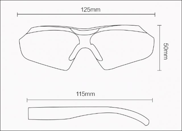 Компанія Xiaomi випустила окуляри для водіїв і гонщиків Turok ... 62ac5ec65e1ed