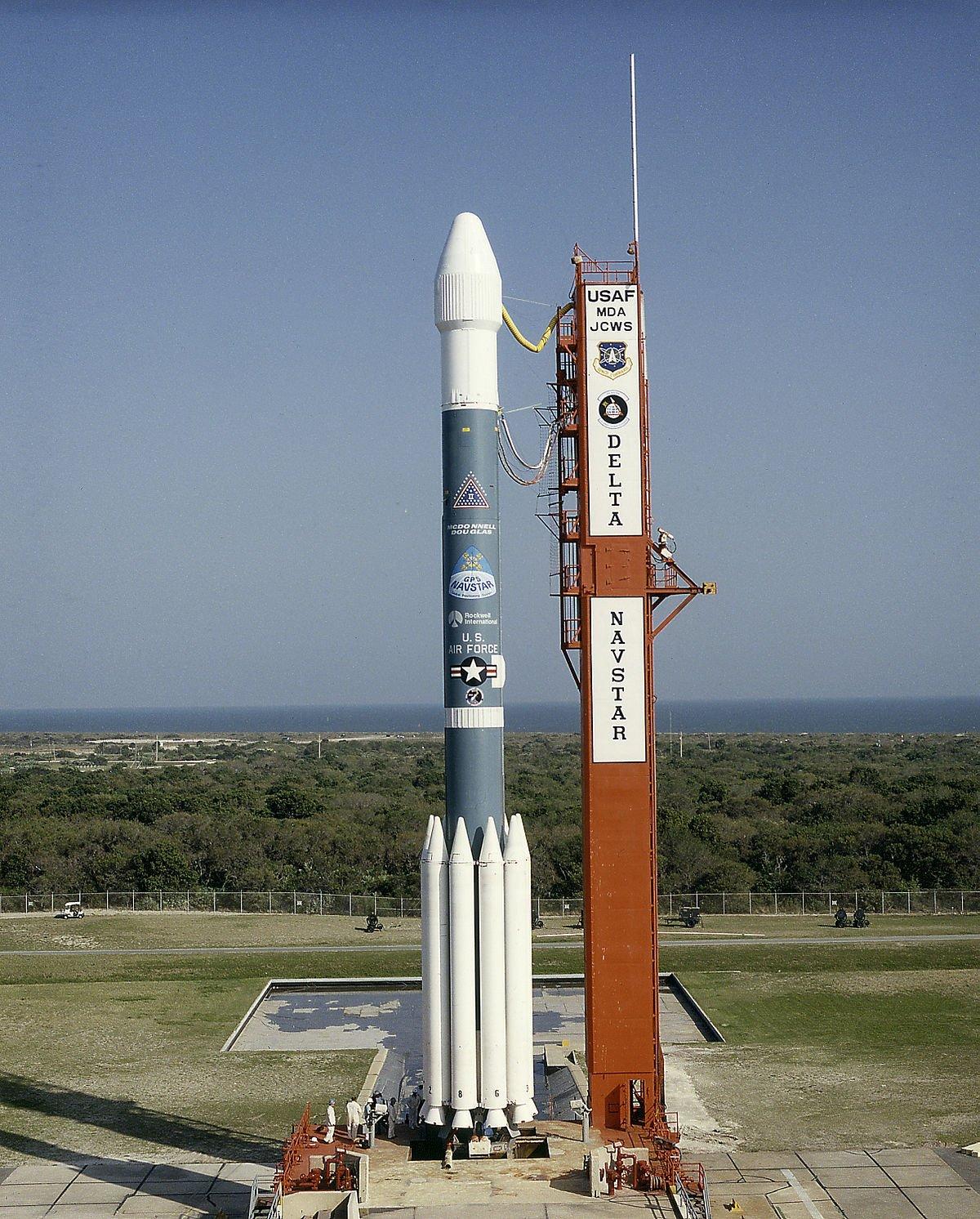США запустили в космос ракету Delta II: опубликовано видео