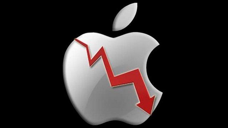 Презентация новинок от Apple: акции компании стремительно подешевели