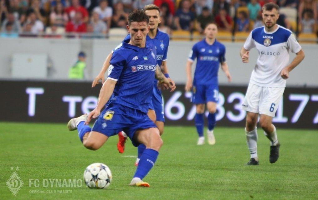 Динамо — Астана: стартовые составы на матч Лиги Европы