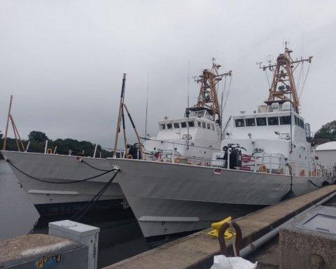 США передали Україні патрульні катери Island: опубліковано відео