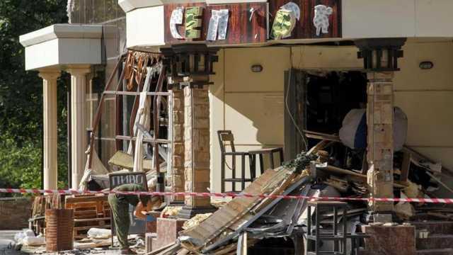 Убийство Захарченко: появились кадры, снятые за несколько секунд до взрыва