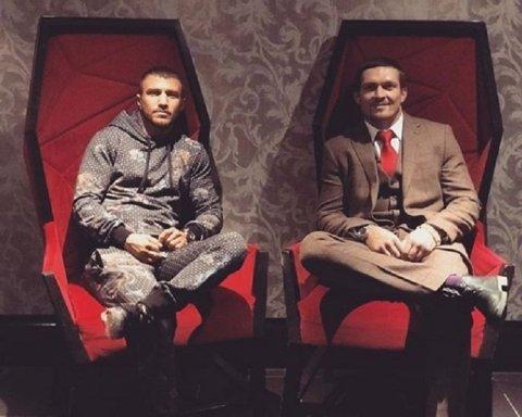 Усик та Ломаченко влаштували український день в Манчестері