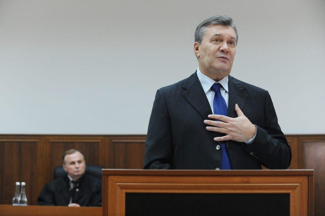 Справа про держзраду: оголошено дату останнього слова Януковича