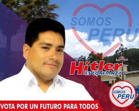 Гитлер и Ленин стали соперниками на выборах в Перу