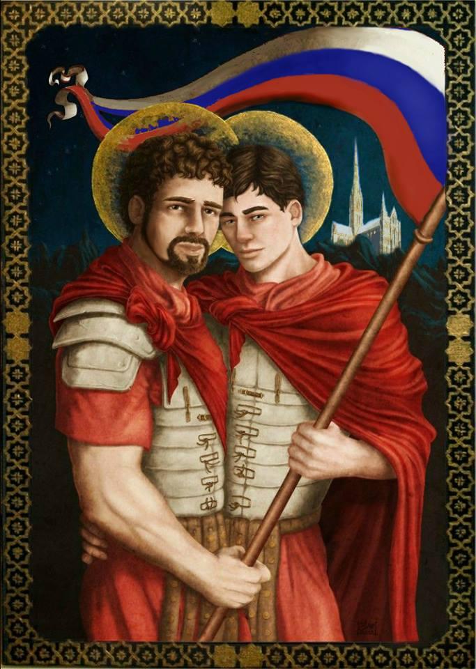 Страстотерпцы Солсберийские: Петрова и Боширова изобразили на иконе