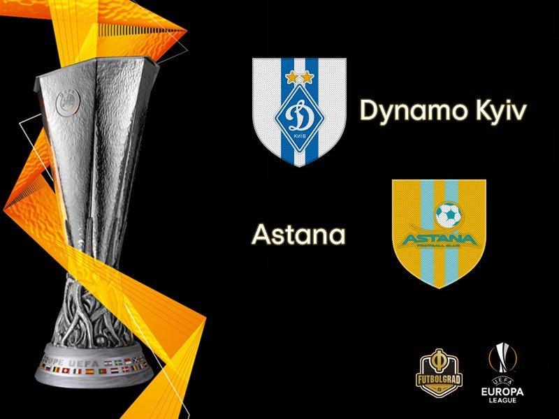 Динамо — Астана: где смотреть онлайн матч Лиги Европы