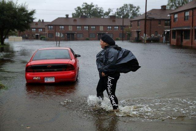 В США продолжает бушевать ураган Флоренс: есть новые жертвы
