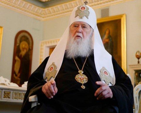 Філарет розповів, як УПЦ МП віддасть найбільшу святиню
