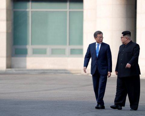 Початок миру: Кім Чен Ин і Мун Чже Ін підписали доленосну угоду