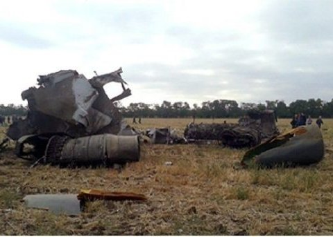 Катастрофа самолета в России: появились первые видео с места событий