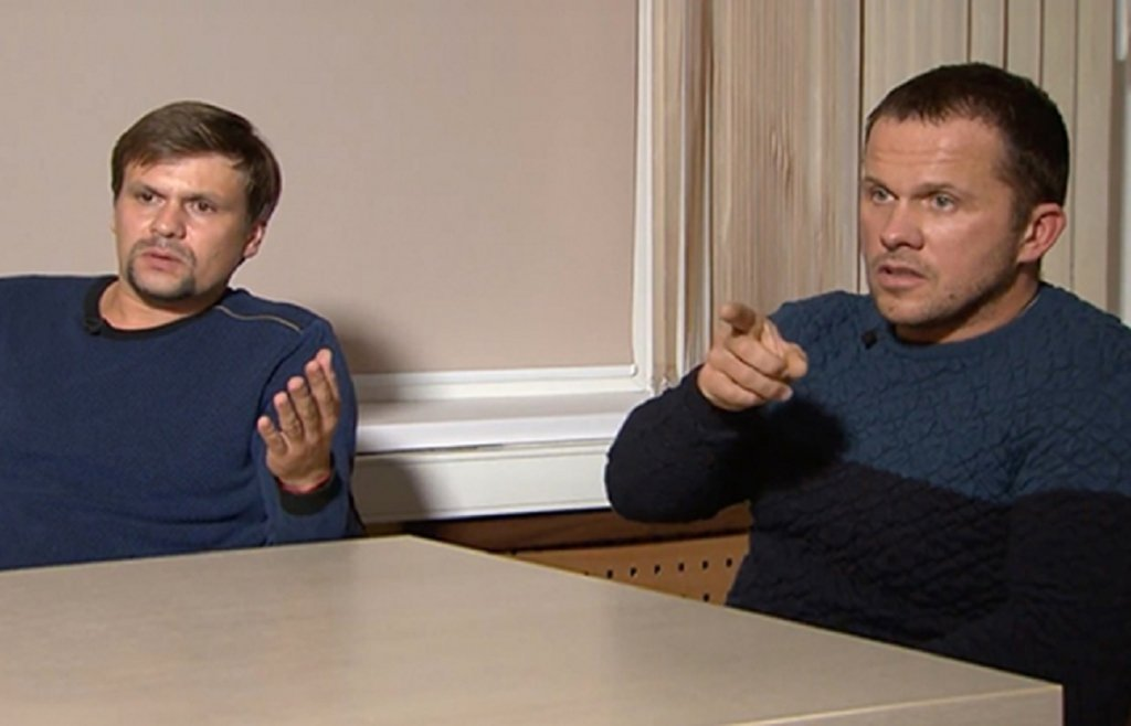 В Bellingcat рассказали, где сейчас находятся шпионы Петров и Боширов