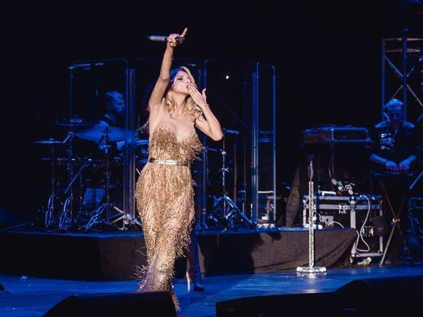 Українська співачка похизувалася відео з концерту у Росії