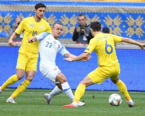 Соперник Украины в Лиге наций потерпел серьезную потерю