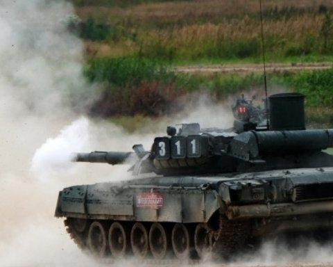 Россия направила к украинской границе танки с «полосами вторжения»