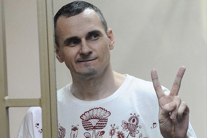 В Москве прошла акция в поддержку Сенцова