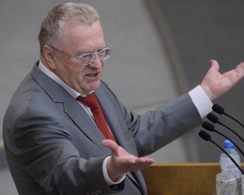 »Клоун» Жириновский устроил драку: видео попало в сеть