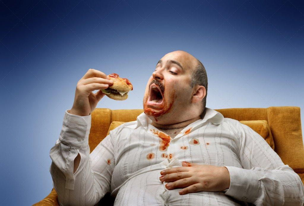 Год, смешные картинки жрущих людей