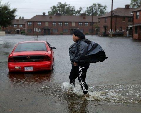 Ураган «Флоренс» в США: появились новые пугающие видео