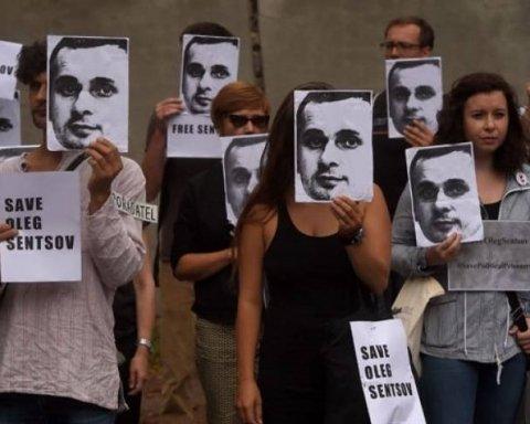 Заради Сенцова: у центрі Києва почалася масштабна акція протесту