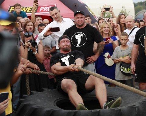 На соревновании богатырей Muromets Fest установили новый украинский рекорд