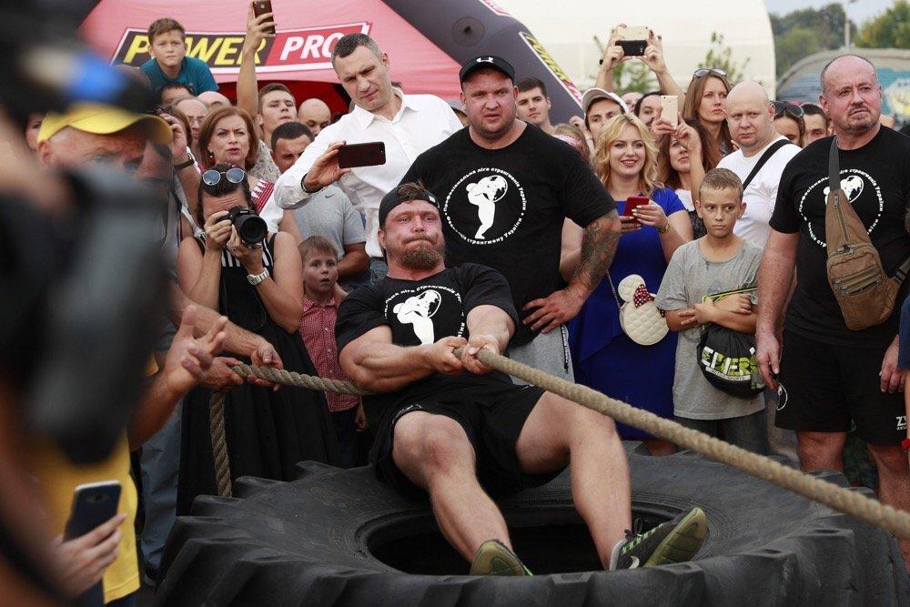 На змаганні богатирів Muromets Fest встановили новий український рекорд