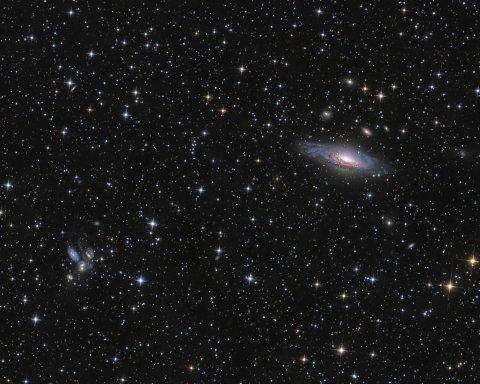 Ученые назвали самые старые галактики во Вселенной